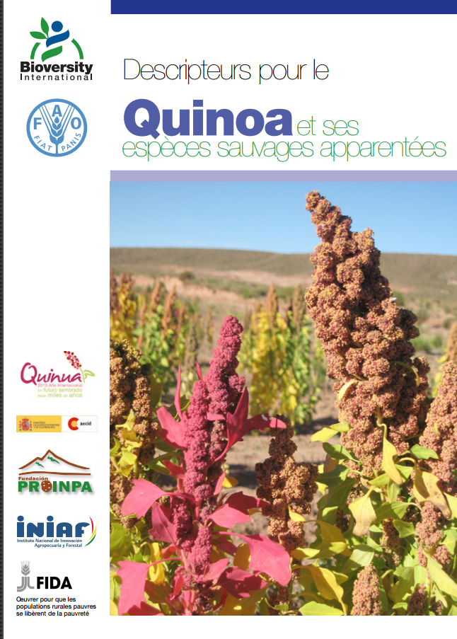 Descriptors for quinoa and its wild relatives